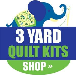 3 Yard Quilt Kits