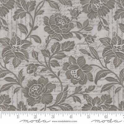 Memoirs - Large Floral - Porcelain Fabric