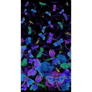 Fly By Night - Panel Fabric