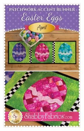 Easter Eggs Runner Pattern Fabric