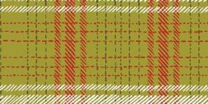 Happy Howlidays - Plaid Fabric