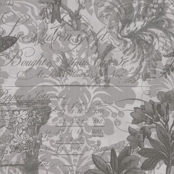 Memoirs - Large Focal - Silver Fabric