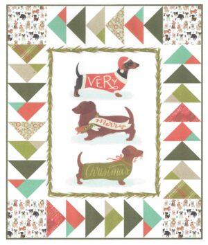 Lap Dog Quilt Kit Fabric