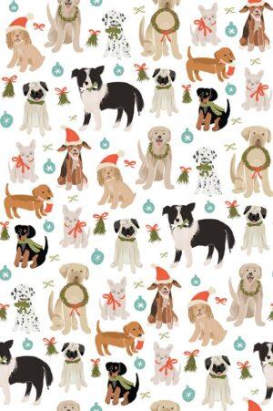 Happy Howlidays - Dogs Fabric