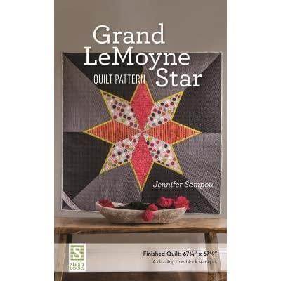 Grand LeMoyne Star Pattern Fabric