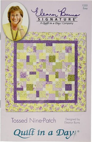 Tossed Nine Patch Pattern Fabric