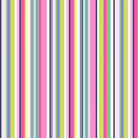 Bungalow - Blossom Stripe Fabric