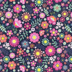Bungalow - Flirt - Navy Fabric