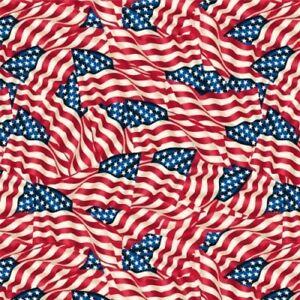 Flags - Wideback Fabric