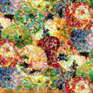 Impressionist - Wideback Floral Fabric