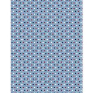 Liberty Lane - Small Stars - Blue Fabric