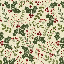 Jingle Bell - Holly Daze - Natural Fabric