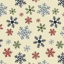 Jingle Bell - Crossroads Multi Snowflake - Multi Fabric