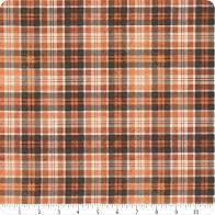 Wicked - Orange Plaid Fabric