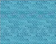Summer - Blue Circles Fabric