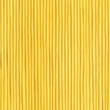 Summer - Yellow Stripe Fabric
