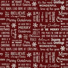 Jingle Bell - Believe in Magic - Berry Fabric
