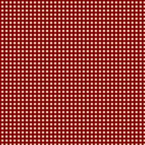 Jingle Bell - Village Check - Berry Fabric