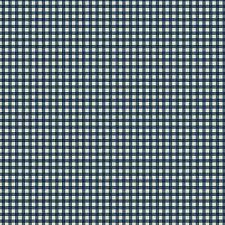 Jingle Bell - Village Check - Blue Fabric