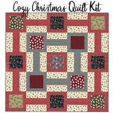 Cozy Christmas Quilt Kit