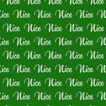 Nice Fabric Green