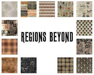 Regions Beyond - 1/2 yard Bundle - Full Fabric Collection