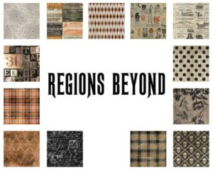 Regions Beyond - 1 yard cuts fabric - Full Collection
