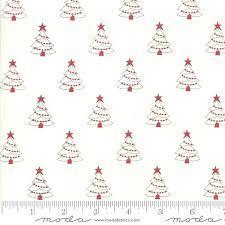 Country Christmas - Cream Trees