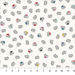 Christmas Hedgehog Fabric