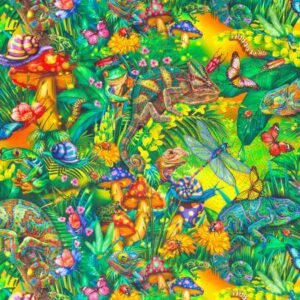 Forest Jungle Fabric
