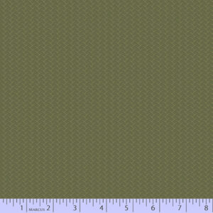 Country Meadow - Light Green - Tan Stripe
