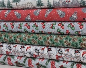 Joyful Tidings - Fat Quarter Bundle Fabric
