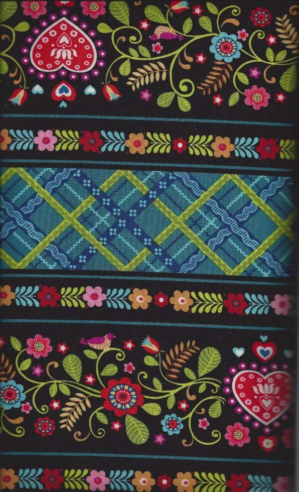 Border Stripe Fabric