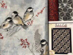 Fabric Quilt Kit 3 Yards Birds