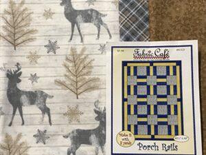 3 Yd Quilt Kit - Deer - Sew Ez Quilt